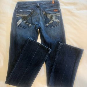 7 for All Mankind Denim, Bootcut, Size 27